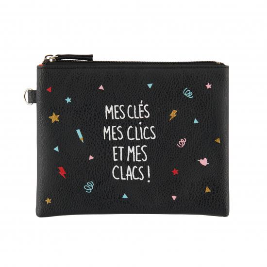 Pochette plate Mes Clics Et Mes Clacs