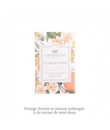 Sachet parfumé PM Orange & Honey