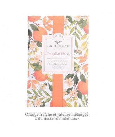 Sachet parfumé GM  Orange & Honey