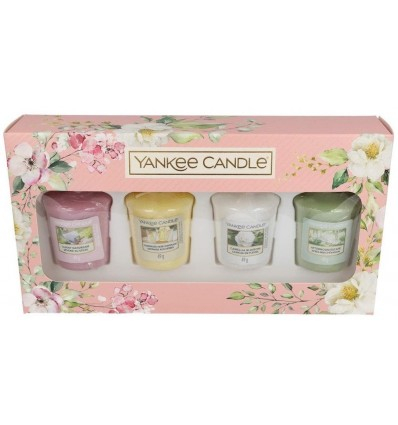 Coffret de 4 votives