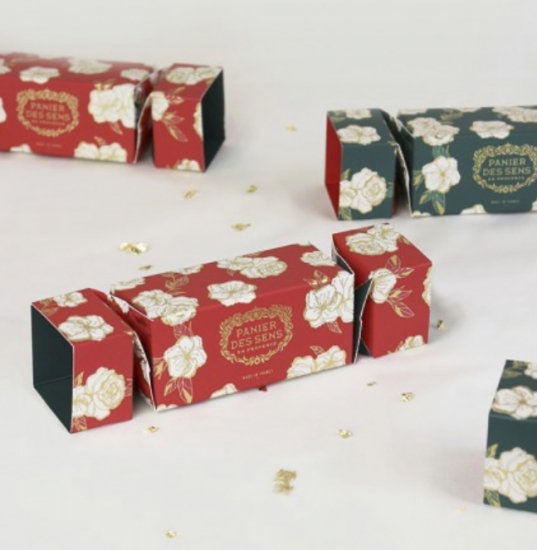 Cracker de Noël à la rose