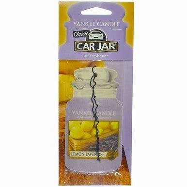 Car Jar Lemon Lavender