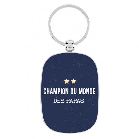 Porte-clés Champion du monde des Papas