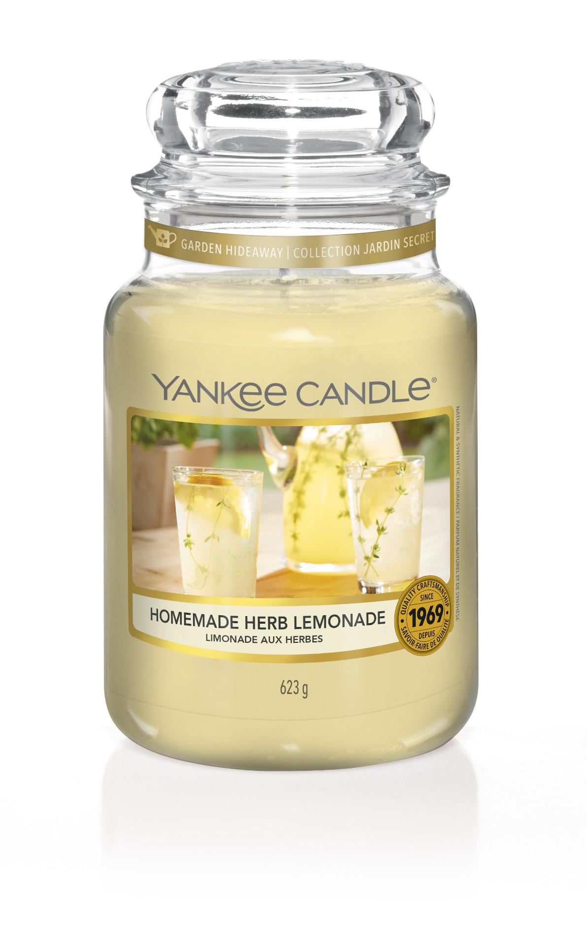 Homemade Herbs Lemonade